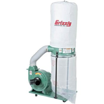 Grizzly G1028Z2 1-1_2 HP Dust Collector