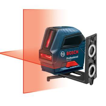 Bosch Self-Leveling Cross-Line Red-Beam Laser Level GLL 55 (1)