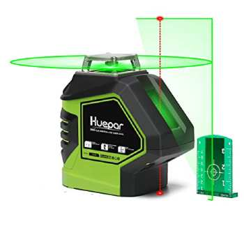 Huepar Self-Leveling Green Laser Level 360 Cross Line (1)