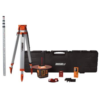Johnson Level & Tool 99-027K Self-Leveling Rotary Laser System (1)