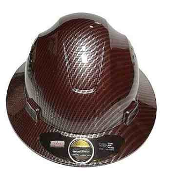 True Crest Fiberglass Hard Hat