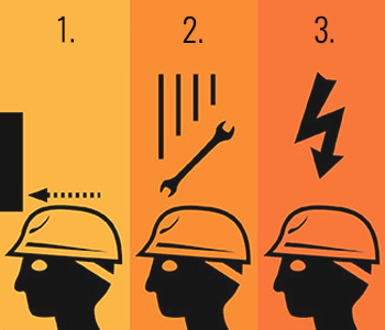 hard hat requirements diagram