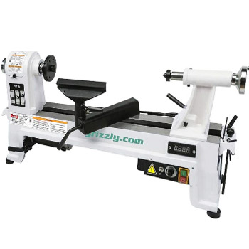 Grizzly Industrial G0844 Variable Speed Benchtop Wood Lathe