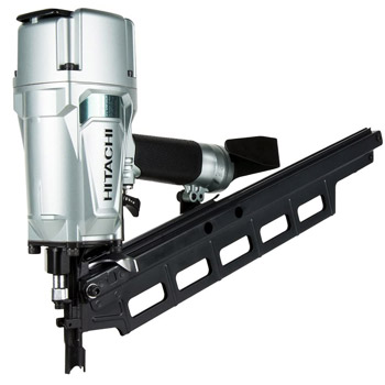 Hitachi NR83A5 Plastic Collated Framing Nailer with Rafter Hook